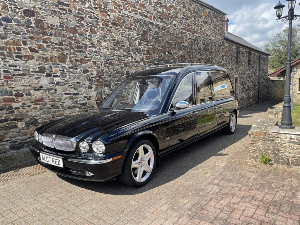 Jaguar Funeral Car - Okehampton Funeral Services