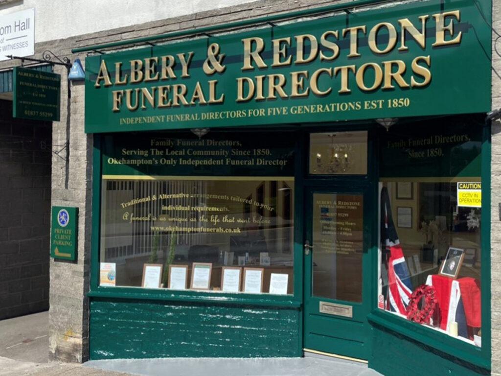 Albery & Redstone Okehampton Funeral Directors