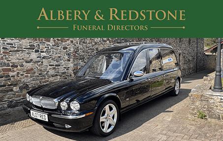 Albery & Redstone - Okehampton Funeral Services Jaguar Hearse
